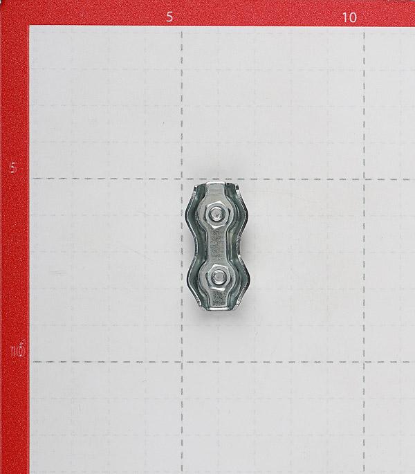 Зажим троса duplex d3 мм (2 шт.)