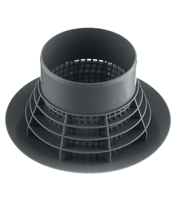 Грибок (дефлектор) Polytron Comfort пластиковый для канализационной трубы d110 мм фото