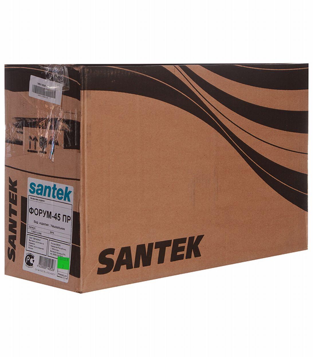 Раковина-мини SANTEK Форум-45 450 мм фото
