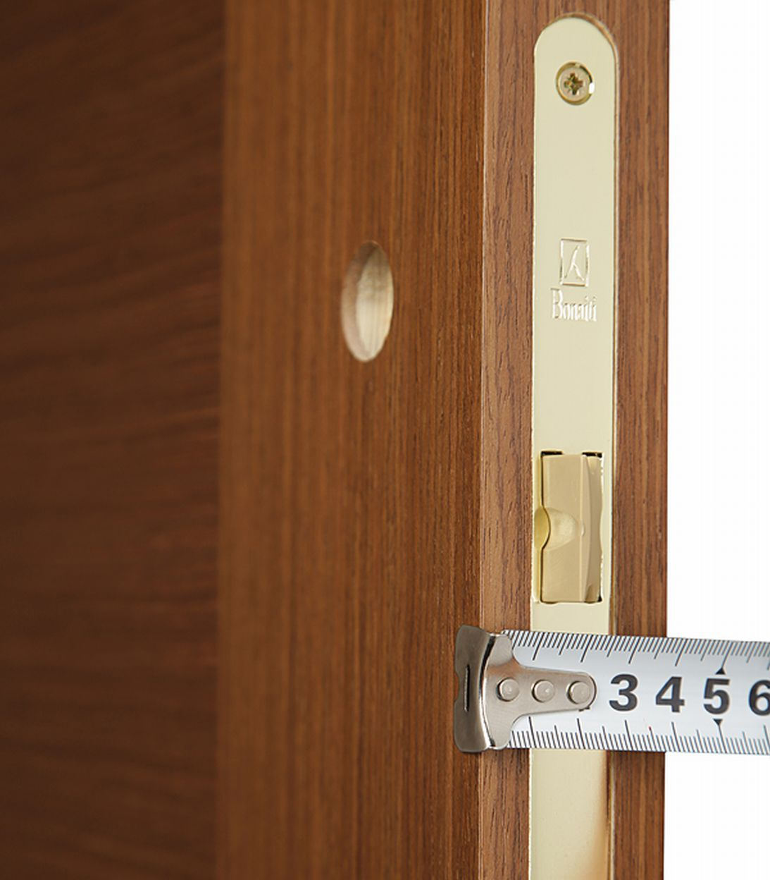 Дверное полотно Mario Rioli Vario орех глухое шпон 900x2000 мм фото