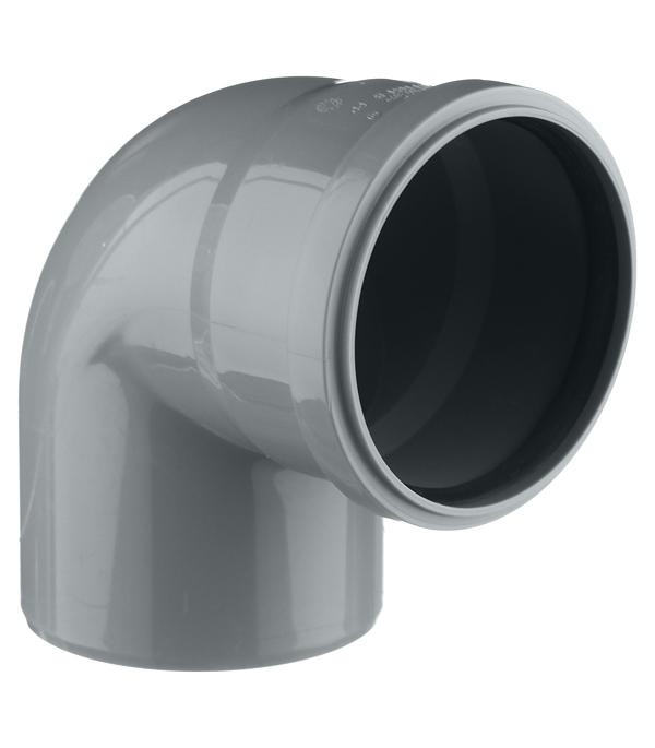 Отвод Ostendorf d110 мм 87° пластиковый для внутренней канализации