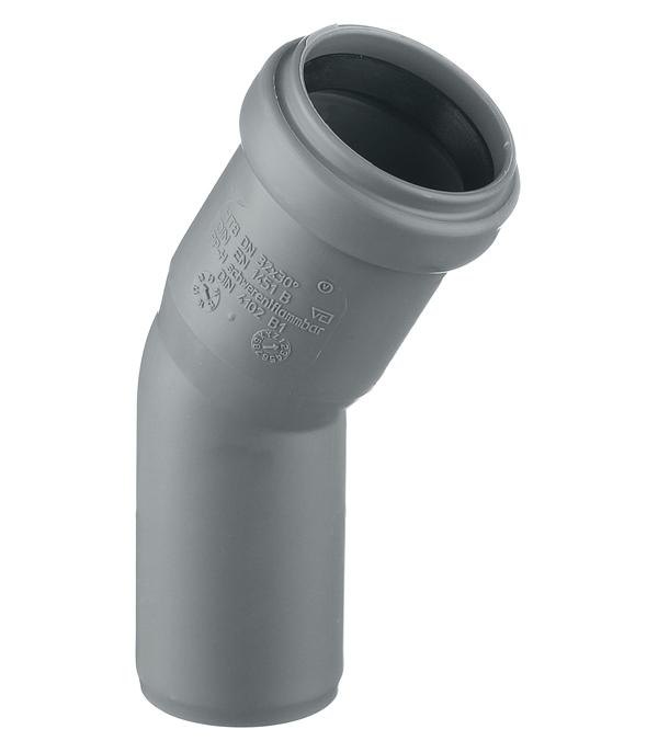 Отвод Ostendorf d32 мм 30° пластиковый для внутренней канализации