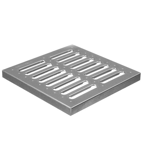 Фото - Решетка водоприемная Gidrolica (200) 285х285 мм стальная оцинкованная решетка водоприемная filcoten 17010200 1000х124 мм стальная оцинкованная