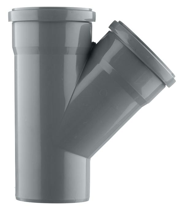Тройник Ostendorf d110 мм 45° пластиковый