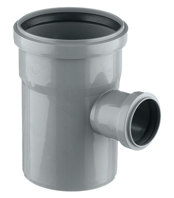 Тройник Ostendorf d110х50 мм 87° пластиковый для внутренней канализации