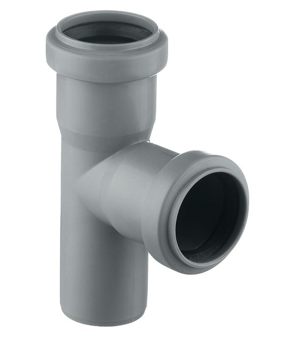 Тройник Ostendorf d40 мм 87° пластиковый для внутренней канализации