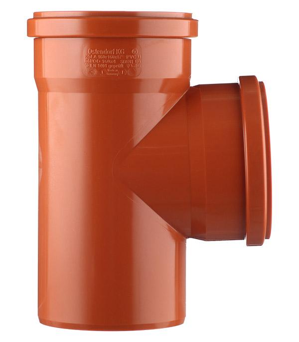 Тройник Ostendorf d160 мм 87° пластиковый