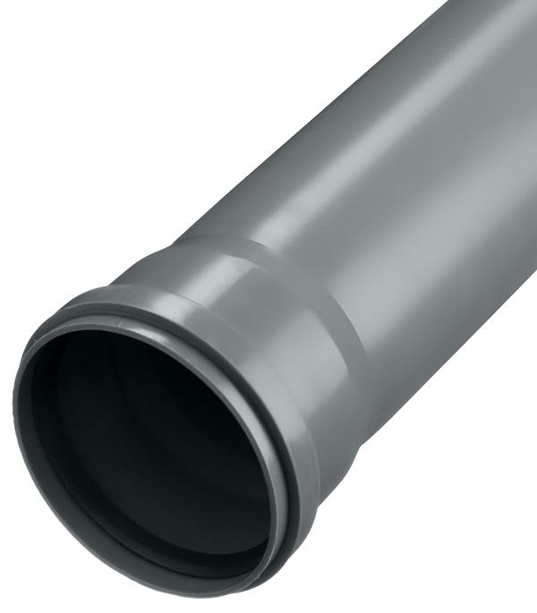 Труба канализационная Ostendorf d110x1000 мм пластиковая для внутренней канализации