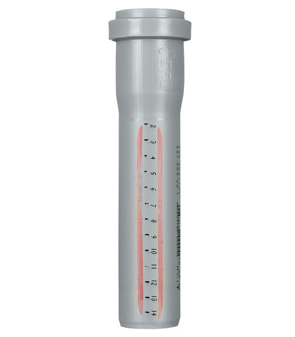 Труба канализационная Ostendorf d40x150 мм пластиковая для внутренней канализации фото