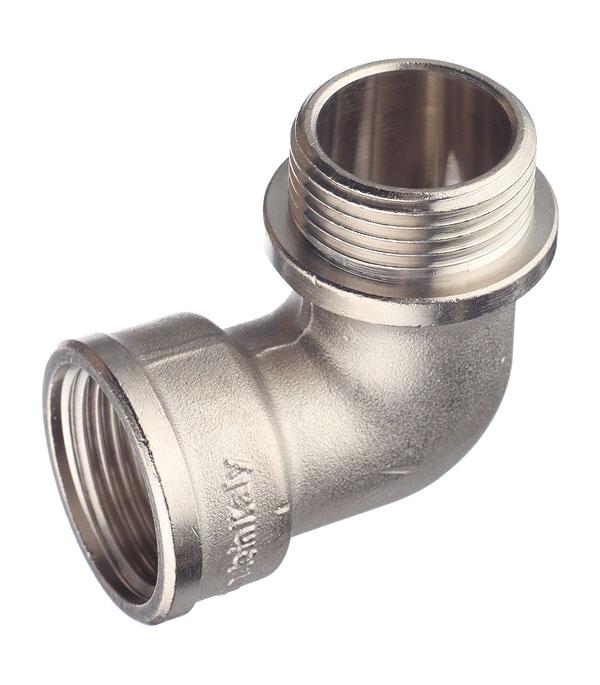 Угол Stout (SFT-0016-000001) 1 ВР(г) х 1 НР(ш) латунный переходник stout sfp 0002 000132 с внутренней резьбой 1х32 мм для металлопластиковых труб прессовой