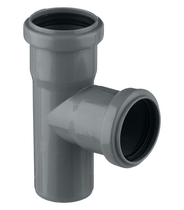 Тройник Pro Aqua Comfort d50 мм 87° пластиковый для внутренней канализации