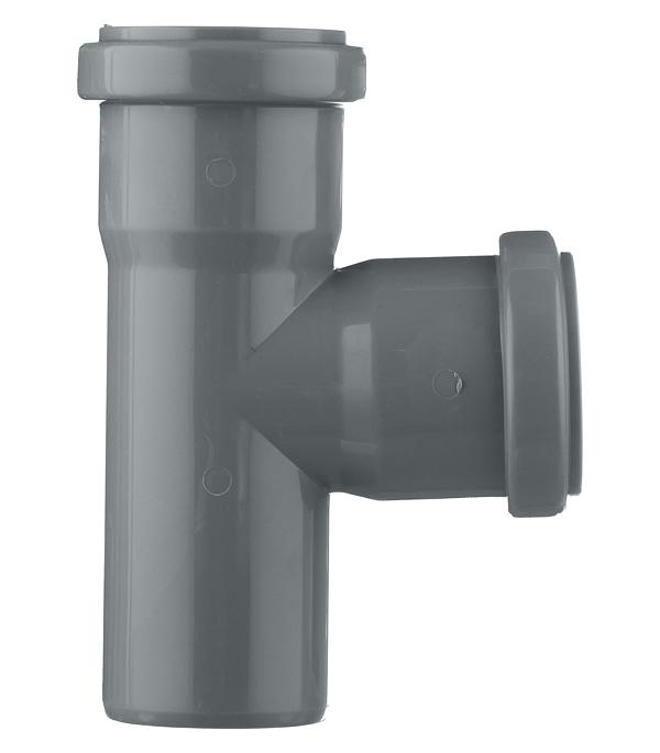 Тройник Polytron Comfort d50 мм 87° пластиковый для внутренней канализации фото