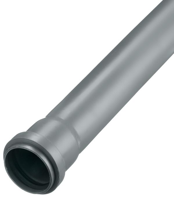 Труба канализационная Polytron Comfort d50x1000 мм пластиковая для внутренней канализации