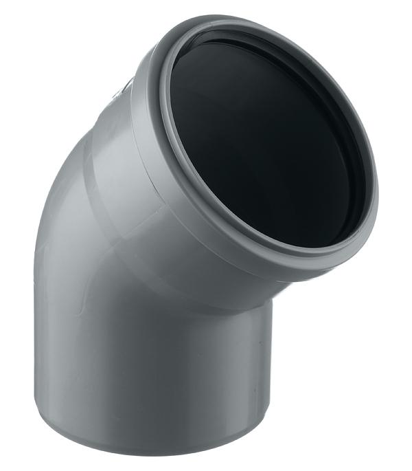 Отвод Polytron Comfort d110 мм 45° пластиковый для внутренней канализации