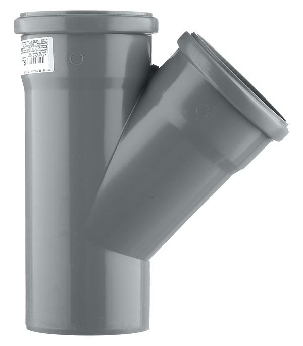 Тройник Polytron Comfort d110 мм 45° пластиковый