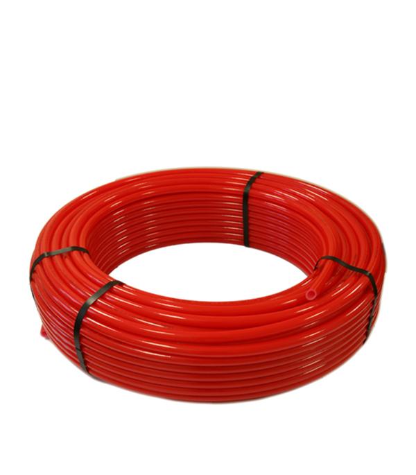Труба для теплого пола 20 мм PERT красная (бухта 100 м)