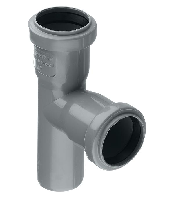 Тройник Polytron Comfort d40 мм 87° пластиковый для внутренней канализации
