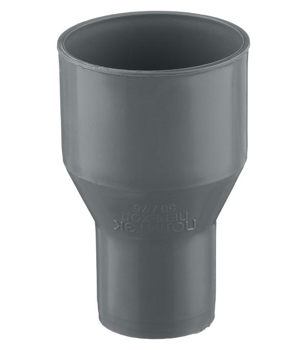 Муфта Polytron Comfort d50 мм пластиковая переходная на чугун для внутренней канализации