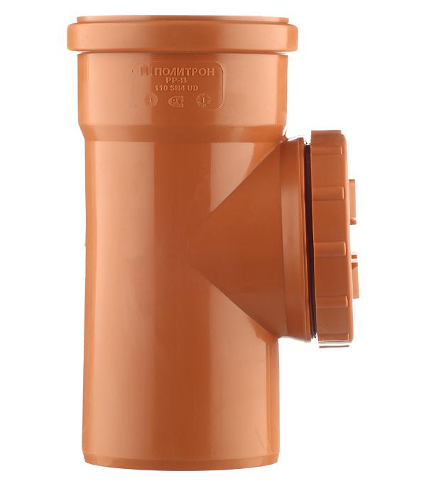 Ревизия d110 мм пластиковая для наружной канализации