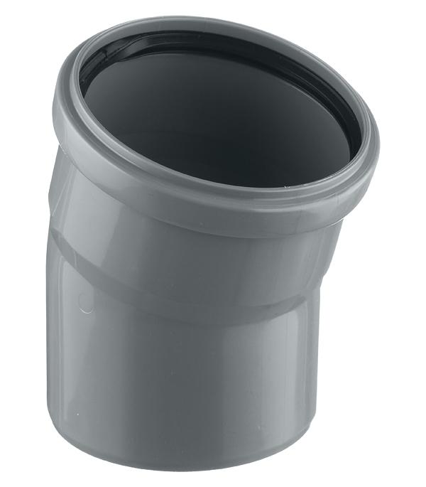 Отвод внутренний 110 мм, 15° однораструбный отвод феникс дымоходный 110 мм угол 90 градусов 1 0 нерж мат 00897