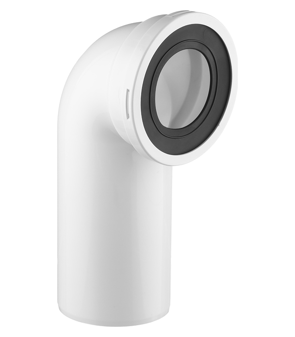 Труба фановая (отвод для унитаза) d110 на 90 градусов отвод феникс дымоходный 110 мм угол 90 градусов 1 0 нерж мат 00897