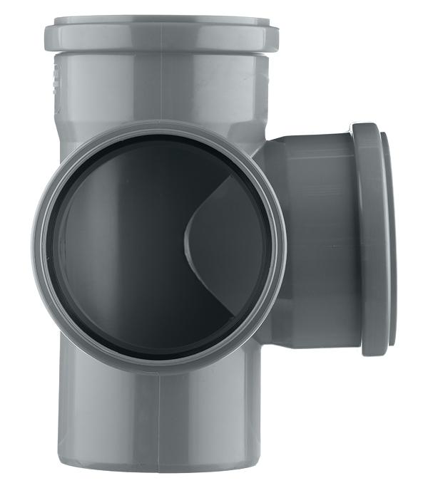 Крестовина Polytron Comfort d110х110х110 мм 87° пластиковая