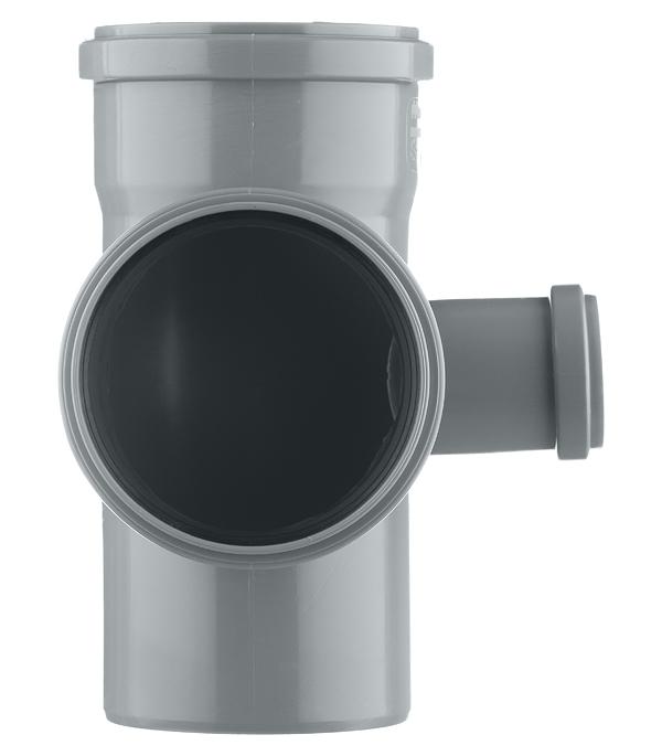 Крестовина Polytron Comfort d110х110х50 мм 87° пластиковая