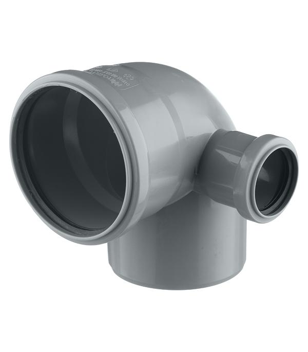 цена на Отвод внутренний 110 мм с выходом 87° х 50 правый РТП
