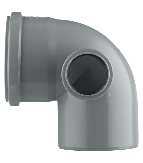 Отвод Polytron Comfort d110 мм 87,5° пластиковый