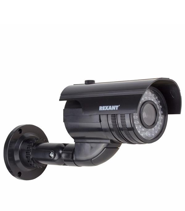 Муляж видеокамеры Rexant цилиндрический уличный черный цена