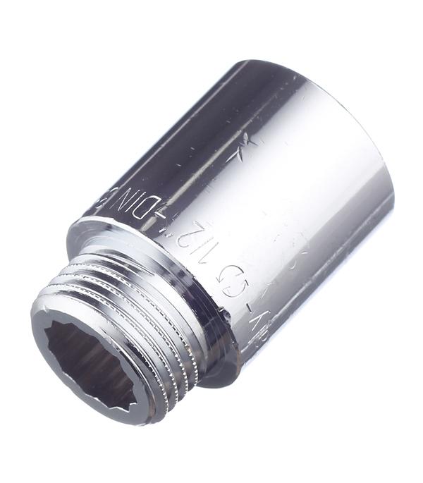 Фото - Удлинитель Stout (SFT-0002-001230) 30 мм х 1/2 ВР(г) х 1/2 НР(ш) латунный удлинитель stout sft 0002 003410 10 мм х 3 4 вр г х 3 4 нр ш латунный