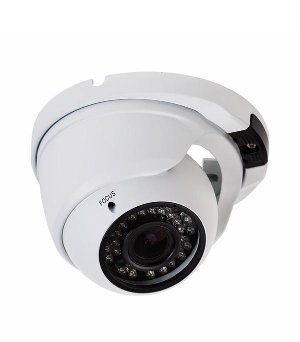 Видеокамера купольная AHD 2.1Мп Full HD с инфракрасной камерой до 30 м new hd full 1920p security ahd camera white metal bullet cctv day night surveillance waterproof infrared ahdh system