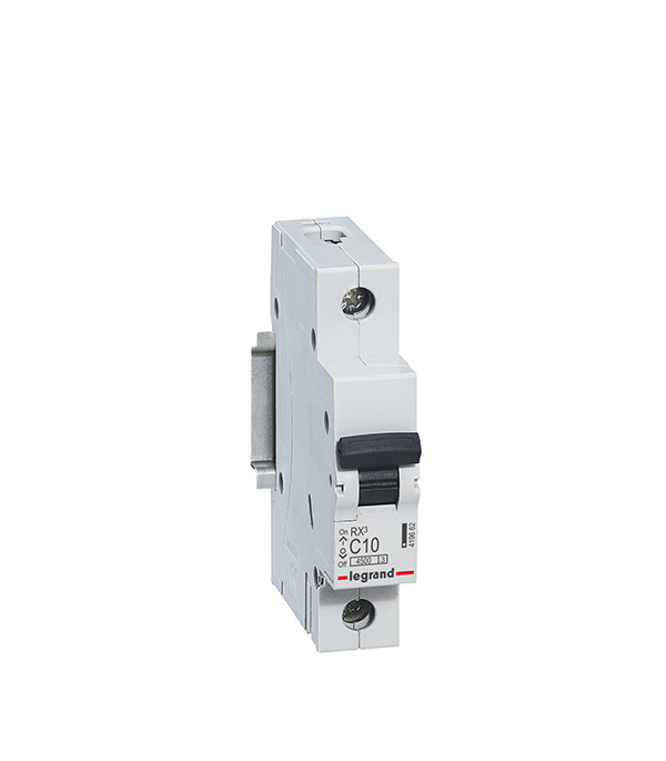 Автомат Legrand RX3 (419665) 1P 20 А тип C 4,5 кА 230 В на DIN-рейку автомат legrand rx3 419669 1p 50 а тип c 4 5 ка 230 в на din рейку