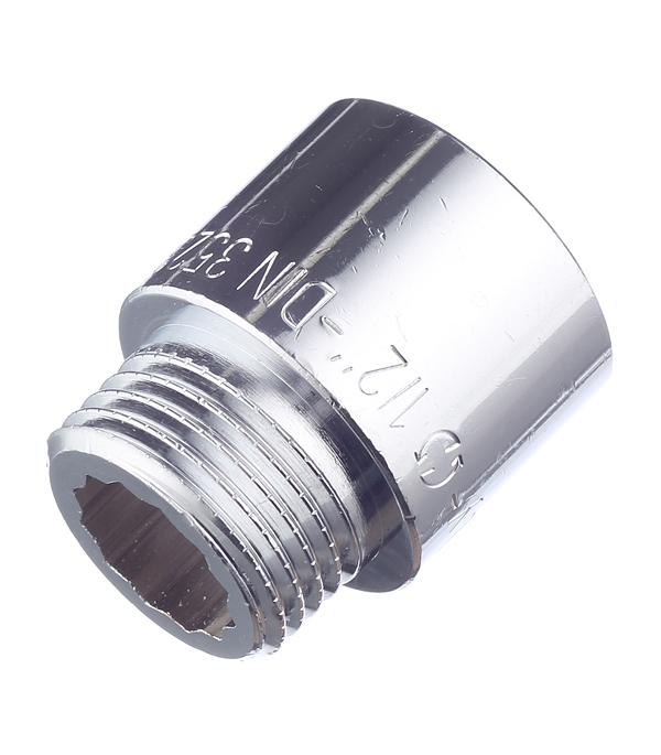 Фото - Удлинитель Stout (SFT-0002-001220) 20 мм х 1/2 ВР(г) х 1/2 НР(ш) латунный удлинитель stout sft 0002 003410 10 мм х 3 4 вр г х 3 4 нр ш латунный