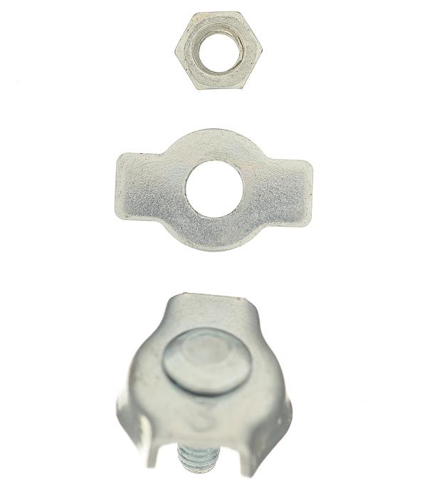 Зажим троса simplex d3 мм (2 шт.)