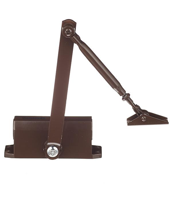 Доводчик дверной ФЗ (до 25 кг) коричневый