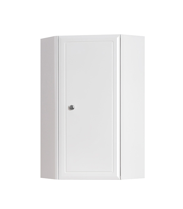 Шкаф BELUX Адажио 380 мм подвесной угловой белый полотенца кухонные belux 200 шт