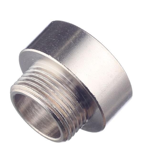 Переходник Stout (SFT-0008-000134) 1 ВР(г) х 3/4 НР(ш) латунный переходник stout sfp 0002 000132 с внутренней резьбой 1х32 мм для металлопластиковых труб прессовой