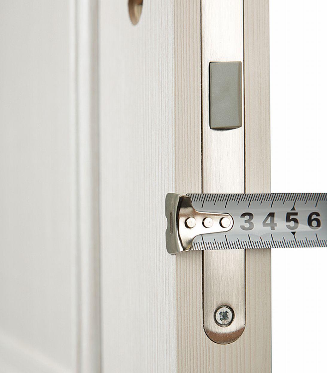 Дверное полотно Mario Rioli Altro бьянко глухое ламинированная финишпленка 700x2000 мм фото