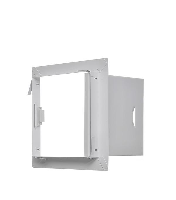 Люк ревизионный 200х200 мм стальной люк смотровой для гипсокартона 200х200 мм металл