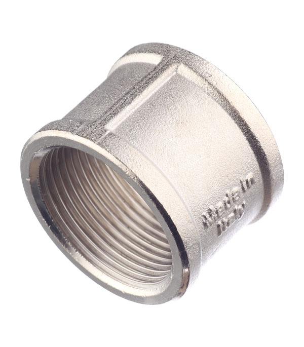 Муфта Stout (SFT-0006-114114) 1 1/4 ВР(г) х 1 1/4 ВР(г) латунная переходник stout sfp 0002 000132 с внутренней резьбой 1х32 мм для металлопластиковых труб прессовой