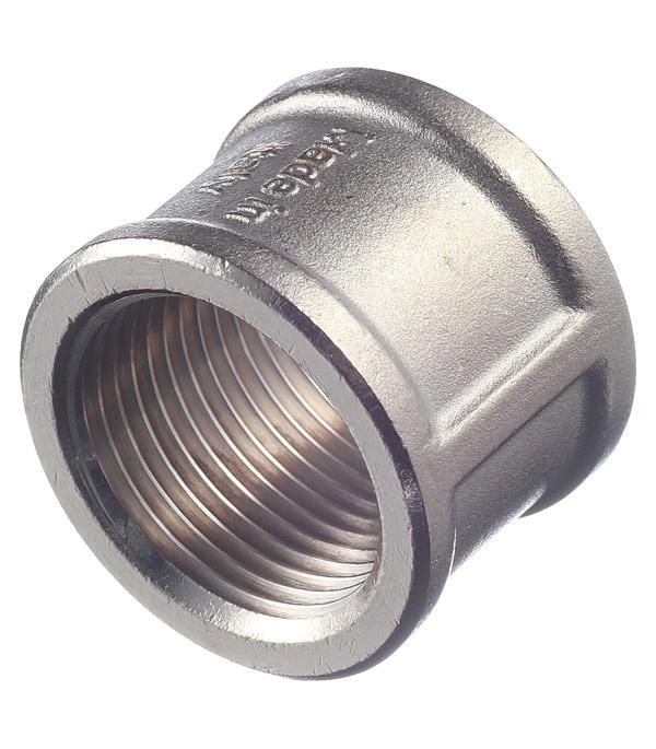 Муфта Stout (SFT-0006-000011) 1 ВР(г) х 1 ВР(г) латунная переходник stout sfp 0002 000132 с внутренней резьбой 1х32 мм для металлопластиковых труб прессовой