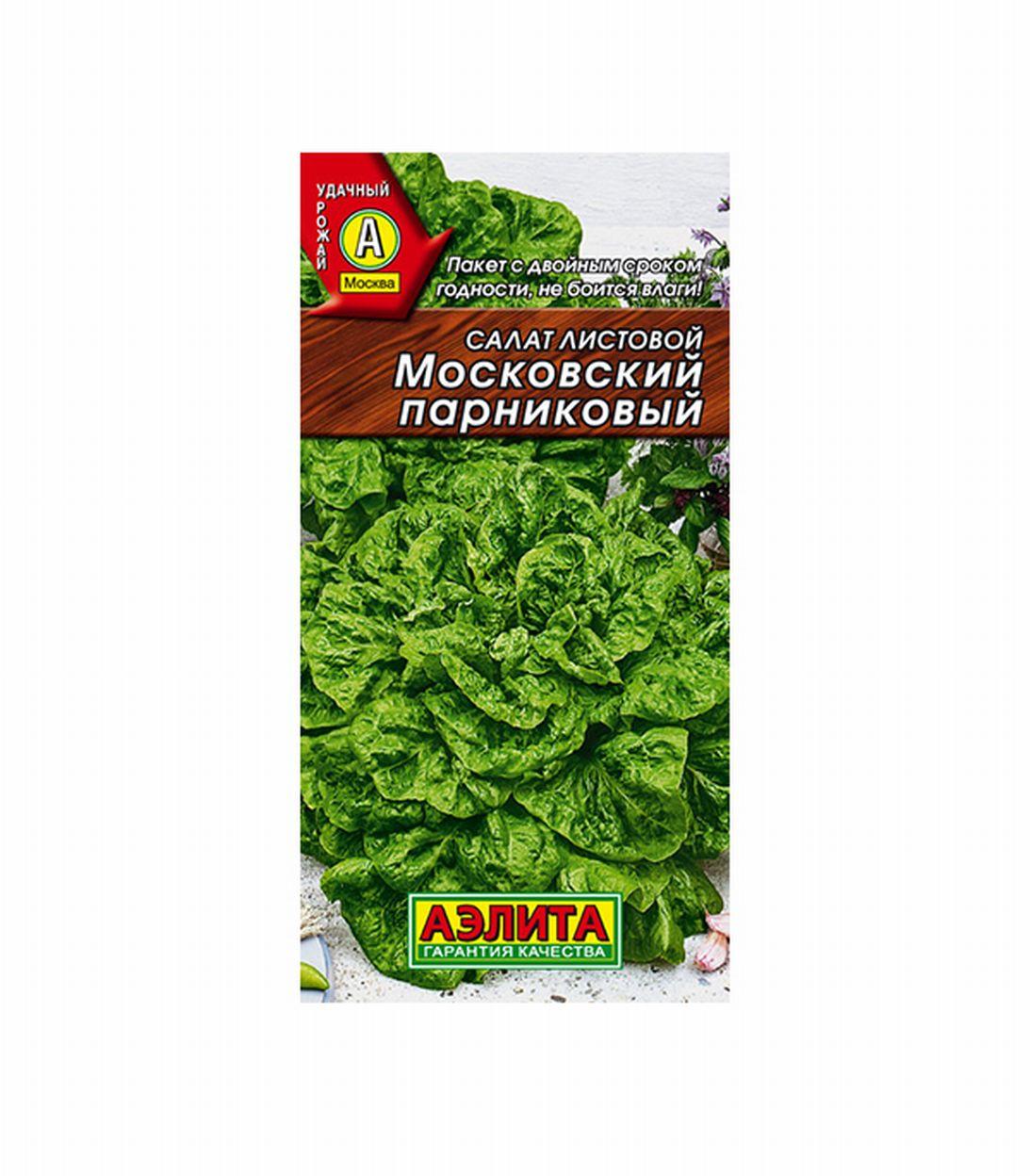 Салат Московский парниковый листовой Аэлита фото