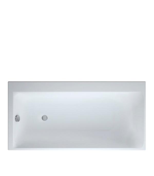 Ванна акриловая CERSANIT Smart 170х80см прямоугольная левая cersanit ванна гидромассажная cersanit nano 150x75 левая