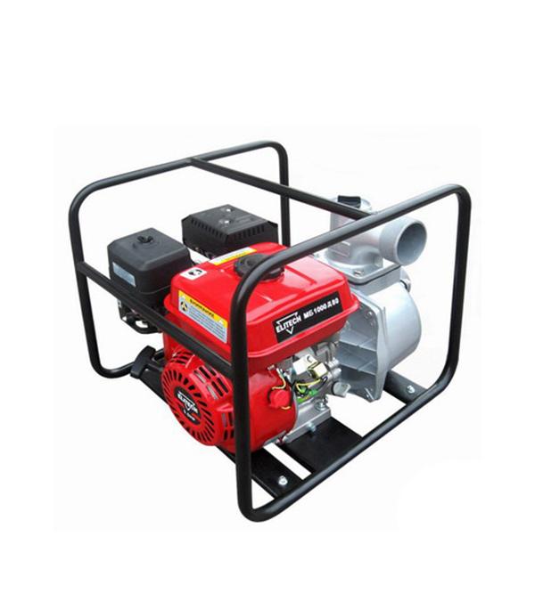 Мотопомпа бензиновая Elitech МБ 1000 Д 80 (155208) для чистой воды