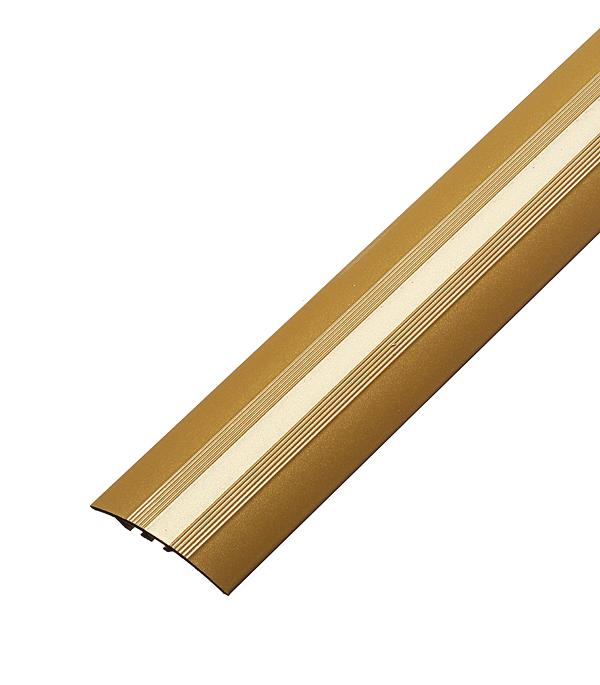 Порог разноуровневый 40х900 мм перепад до 8 мм Золото