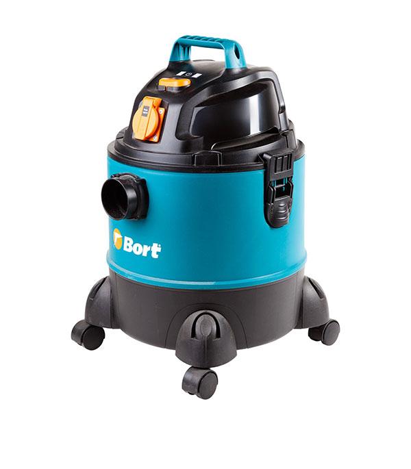 Пылесос строительный электрический Bort BSS-1220-Pro (98291797) 1250 Вт 20 л