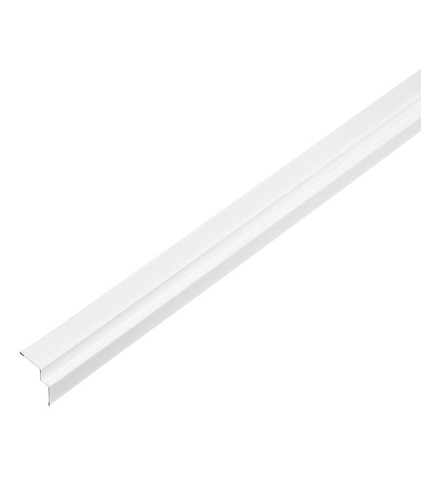 Профиль угловой теневой PLL 23х21х3000 мм белый оцинкованный