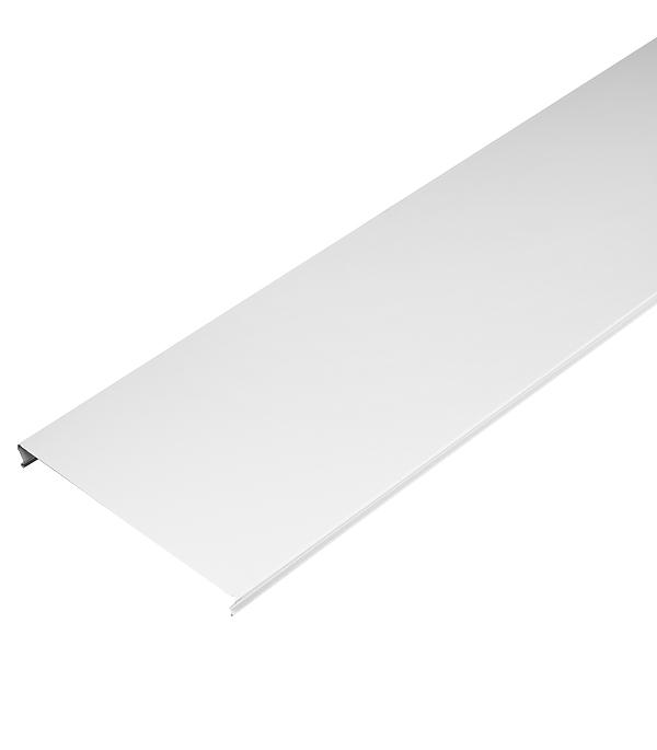 Рейка сплошная S-дизайн 3 м 150АS белая матовая стоимость