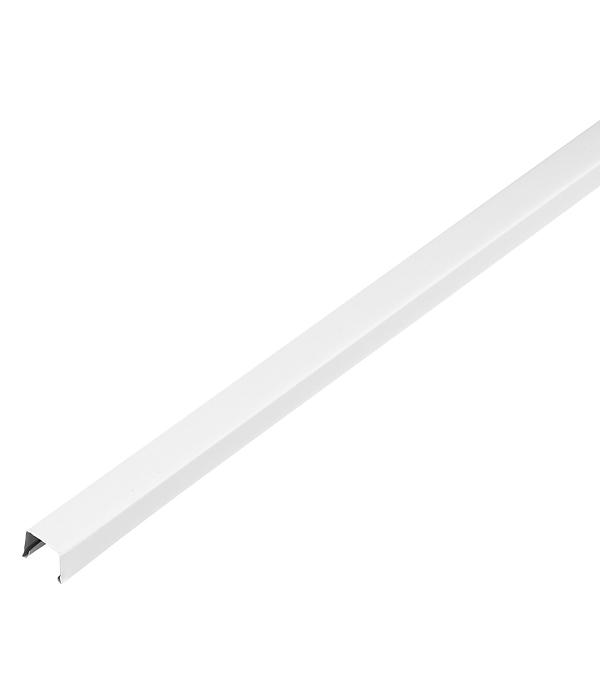 цены Профиль п-образный универсальный RPP 18,6х15х3000 мм белый матовый